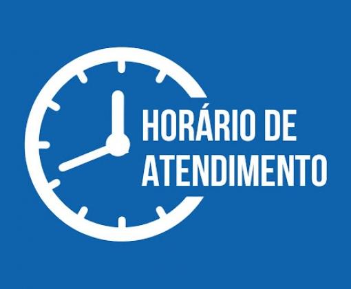 NOVO HORÁRIO DE ATENDIMENTO - DAES
